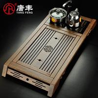 Teaberries wenge mahogany Large wood tea table tea sea four in one tea cooker tf-1503