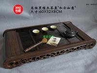 Ebony wood tea tray Large guesser would mahogany tea tray tea sets
