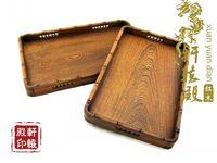 Redwood carving supplies wenge tea tray kung fu tea fengcha tea tray tea sea plate solid wood