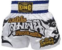 Top king muay thai shorts tktbs-076 muay thai shorts pants free combat pants original supplies