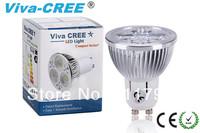 2014  Viva-CREE @2pcs LED GU10 12w Energy saving 90% 620 lumen, Super bright Equivalent to 70w