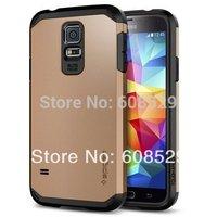 Galaxy S5 SGP phone case,SLIM Tough Armor SPIGEN SGP case for Samsung Galaxy S5 i9600+2pcs/lot+free shipping