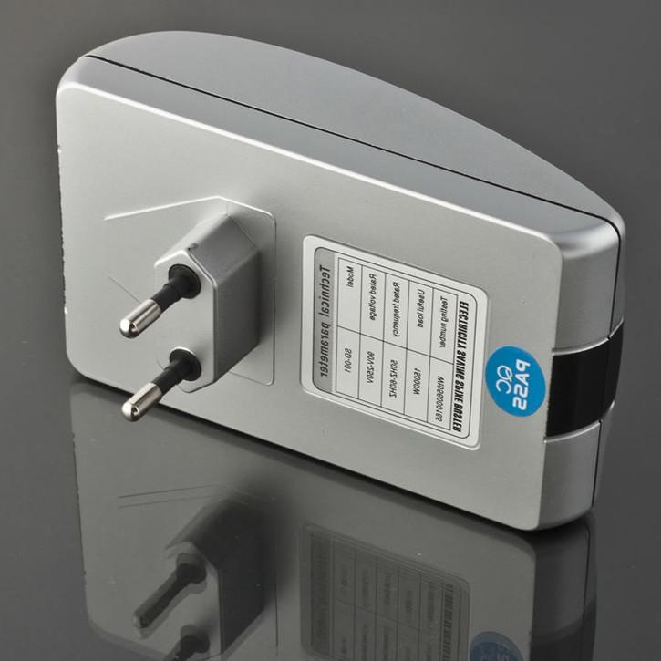 1pcs Single Phase Power Saver 18KW with AU/EU/UK/USA plug home electric energy saver+free shipping(China (Mainland))