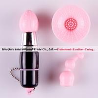 Wholesale 10Pcs/Lot 3 Head Miniature AV Vibrators Mute Massager For Female Sex Toys Adult Product XQ-613