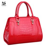 2014 women's handbag female shoulder bag messenger bag crocodile pattern bag