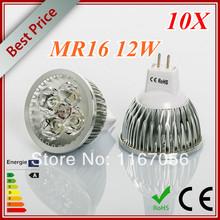 X10 High power CREE Led Lamp 9W 12W 15W Dimmable MR16 12V Led spot Light Spotlight led bulb LED lights downlight lighting(China (Mainland))
