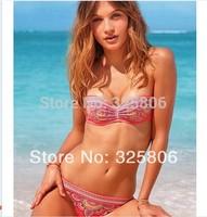 Drop shipping Free Shipping discount bikini ruffle bikini womans swim wear push up bathing suit tops underwire swimwear top