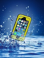 100pcs/lot.DHL Free.Newest 2nd IPX8 30M water proof case for iPhone 5 5s iphone 4S 4G Top Quality dirtproof snowproof waterproof
