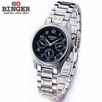 Classic Luxury Quartz Wristwatch White Golden Case Analog Calendar Elegant Wrap Wrist Watches Women's Black Dial Fashion Watch