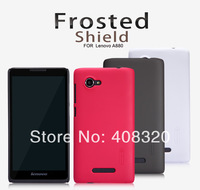 Original Nillkin Super Frosted Shield Matte Hard Case For Lenovo A880 With Screen Protector, Free Shipping