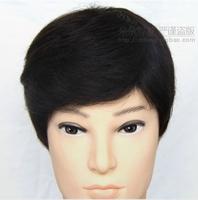 FASHION  100% H HAIR wig male short wig---jean wig