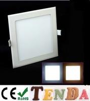 10Pcs Freeshipping 3w/4W/6W/9W/12W/15W/18W SMD2835 led panel lighting  AC85-265V Warm/Cool white lighting