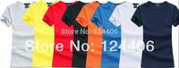 2014 new, hot models, free shipping, female models short-sleeved T-shirt, embroidery LOGO, fashion, good quality