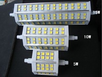 Dimmable R7s 5w 10w 15w 78mm 118mm  189mm 220V dimming led bulbs tungsten tube tubes led lamp r7 lights