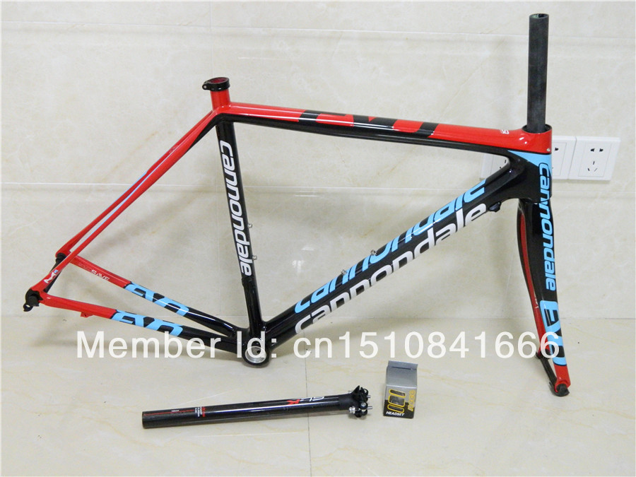 2014 New bike frame for road bike made in carbon T1000 carbon road frame Super Six EVO Bike Frame+fork+seatpost+clamp+headset(China (Mainland))