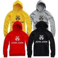 spring 2014 men& women man hoody popular hoodies sweatershirts hiphop  (M-4XL)  john john sports casual hoodies brand sportswear