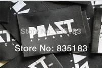 Garment label customized 1000pcs /lot cloth label  free shipping