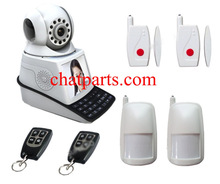 Wireless Network Camera Mobile Phone Video Call Chat Alarm System W Monitor / FREE SHIPPING