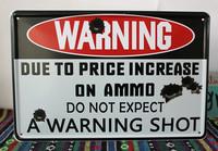 A Warning Shot painting arts and crafts tin Signs wall hanging poster Pub Bar office Decoration P-50 Free Shipping