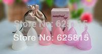 HOT 2pcs Ladies menstrual cup Feminine Hygiene Product 10-140