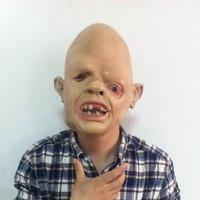 Free shipping New 2014 latex mask halloween masquerade masks party horror masks latex hood black carnival