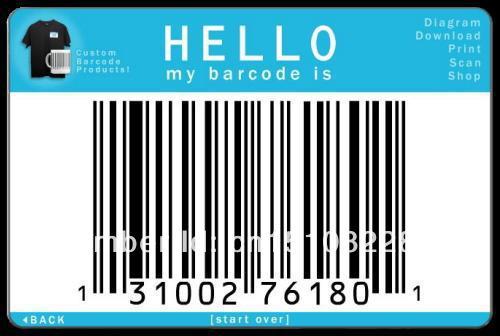 Barcode PVC card(China (Mainland))