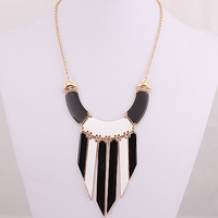 1341#Min.order is $10{ mix order }.HOT   Europe and the United States Angel Geometric necklace.