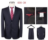 2013 new brands suits for men two pockets men clothing set wedding suits for men size S-4XL