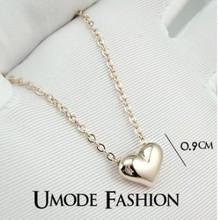 Colares N19 coração colar de venda direta da fábrica Colares frete grátis (min pedido de US $ 10 artigos modo misto)(China (Mainland))