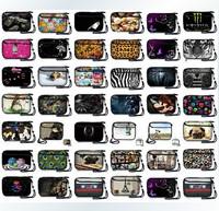 Fashion hard disk drive storage coin purse mp4 mp5 Power bank charger mobile phone bag  Logo Customizable