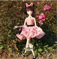 Wholesale 29cm  Movable Flexible Girl Doll Toy Dolls 1pcs/lot NWB047