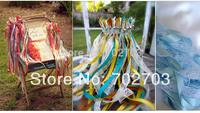 Fashion wedding lace ribbon fairy sticks magic wands garland wedding decoration supplies