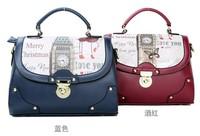 Trend handbag cartoon print messenger bag