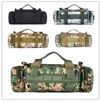 men portable Camouflage handbag.new for men sports luggage army shoulder bag.women travel army handbag  shoulder bag.free ship