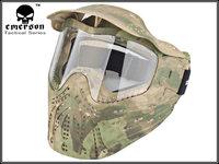 NEW Full Face Paintball CS Airsoft Goggle Anti Strike Mask TPU ATFG Camo