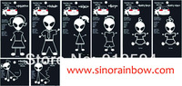 2014, 8 Characters Star Wars Family Car Stickers