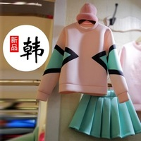 2014 spring and autumn winter long-sleeve basic one-piece dress