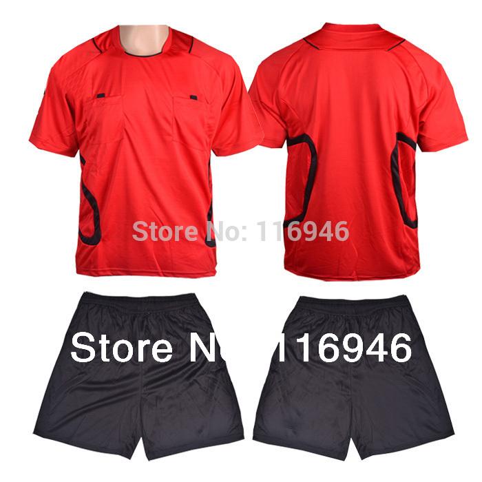 [Bella Sports]Men's Soccer Referee Uniform (Shirt+Short), Football Referee Uniform Soccer Jersey Comfortable Fabrics 1MC0001(China (Mainland))