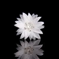 Fabric flower rhinestone the bride hair accessory hair accessory hair stick