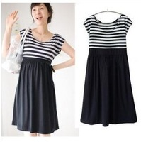 Maternity clothing summer one-piece dress fashion summer maternity dress summer clothes skirt
