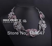 2014 New Arrival Free Shipping necklaces & pendants fashion Unique choker Necklace statement women