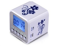 Chinoiserie Mini Speaker / Micro SD TF Card USB Disk Audio Amplifier MP3 Music Player FM Radio + Free shipping