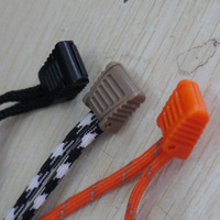 Mountaineer outdoor Travel Rope tailstock ,Backpack Accessories Rope end,20/lot