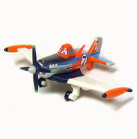 Pixar Planes No.7 Supercharged Dusty  Metal 1:55 Planes Loose Toy -P2