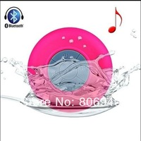 Portable Waterproof Bluetooth V3.0 + EDR Shower Speaker Handsfree Speakerphone with Suction Cup