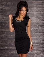 O Neck Sleeveless Women's Fashion Clubwear Dresses, Lady's Sexy One Piece Evening Dress Casual Work Wear