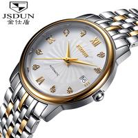 Original JSDUN Fully-automatical Watches men luxury brand Sapphire Waterproof swiss automatic Skeleton Watch 8899