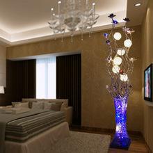 Led floor lamp fashion brief aluminum decoration lamp modern floor lamp(China (Mainland))