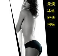 Free Shipping A Seamless Women's Underwear Briefs Sexy  Stealth Cool Ice Silk Underwear Women Panty