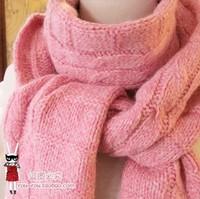2 2013 High quality cannabis warm wool scarf knitted wool